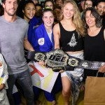 Superstar Ronda Rousey donates UFC championship belt to judo school